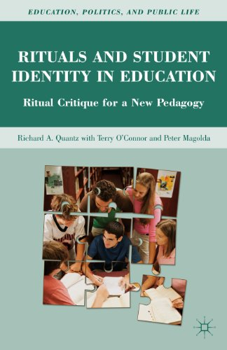 Rituals and Student Identity in Education Ritual Critique for a New Pedagogy  2011 9780230101166 Front Cover