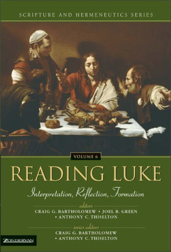 Reading Luke Interpretation, Reflection, Formation  2005 9780310234166 Front Cover