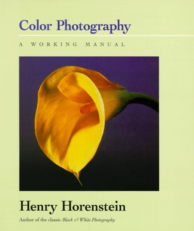 Color Photography A Working Manual  1995 edition cover