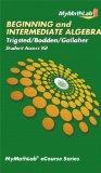 Beginning and Intermediate Algebra   2012 (Revised) edition cover