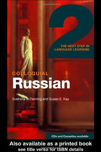 Colloquial Russian 2 The Next Step in Language Learning  2003 edition cover