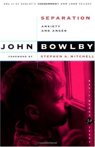 Separation Anxiety and Anger  1973 edition cover
