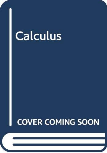 Calculus: Etf Plus Eduspace : Etf Plus Eduspace 4th 2007 9780618802166 Front Cover