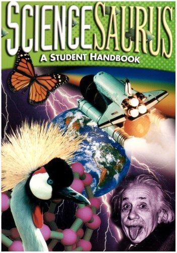 Sciencesaurus A Student Handbook 2nd 2005 edition cover