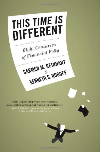 This Time Is Different Eight Centuries of Financial Folly  2009 edition cover