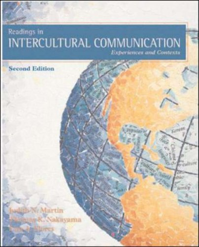 Readings in Intercultural Communication Experiences and Contexts 2nd 2002 (Revised) edition cover