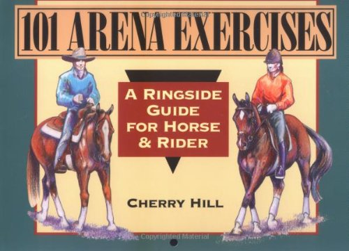 101 Arena Exercises for Horse and Rider   1995 edition cover