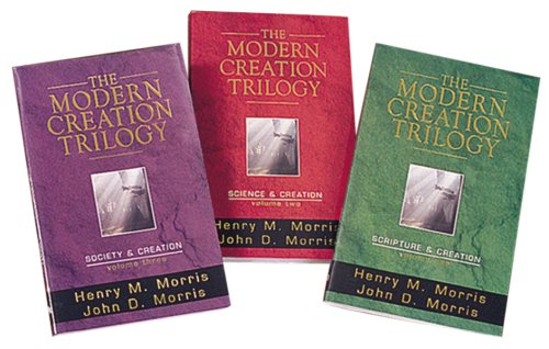 Modern Creation Trilogy : Scripture and Creation; Science and Creation; Society and Creation  1997 (Gift) edition cover