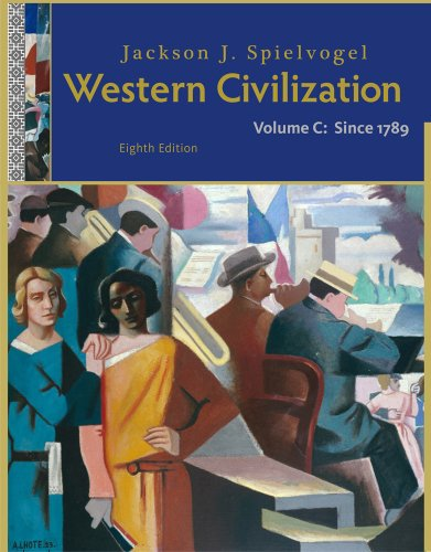 Western Civilization since 1789  8th 2012 edition cover
