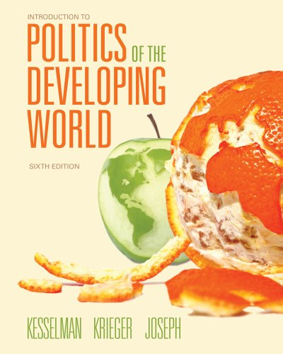 Introduction to Politics of the Developing World Political Challenges and Changing Agendas 6th 2013 edition cover