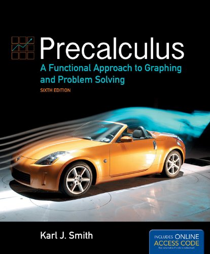 Precalculus A Functional Approach to Graphing and Problem Solving 6th 2013 edition cover