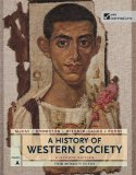 A History of Western Society: From Antiquity to 1500  2013 edition cover
