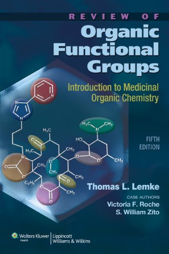 Review of Organic Functional Groups Introduction to Medicinal Organic Chemistry 5th 2012 (Revised) edition cover