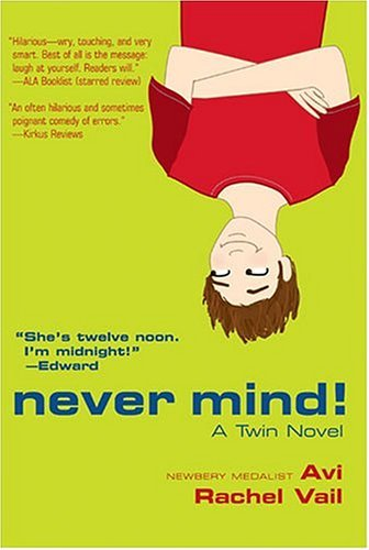 Never Mind!  Reprint edition cover