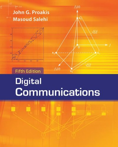 Digital Communications  5th 2008 edition cover