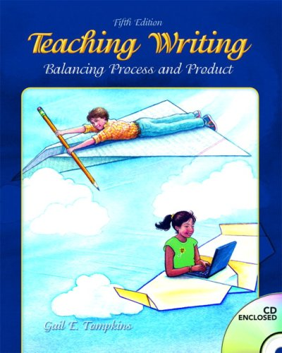 Teaching Writing Balancing Process and Product 5th 2008 edition cover
