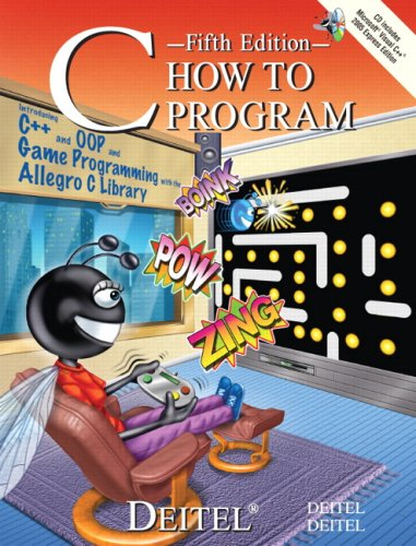 C How to Program  5th 2007 (Revised) 9780132404167 Front Cover