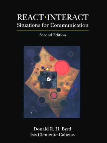 React-Interact Situations for Communication 2nd 1991 9780137537167 Front Cover