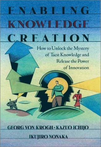 Enabling Knowledge Creation How to Unlock the Mystery of Tacit Knowledge and Release the Power of Innovation  2000 edition cover