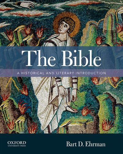 Bible A Historical and Literary Introduction  2013 edition cover