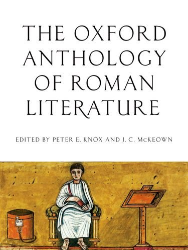 Oxford Anthology of Roman Literature   2013 edition cover