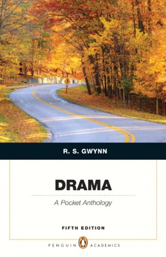 Drama A Pocket Anthology 5th 2012 edition cover