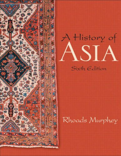 History of Asia  6th 2009 edition cover