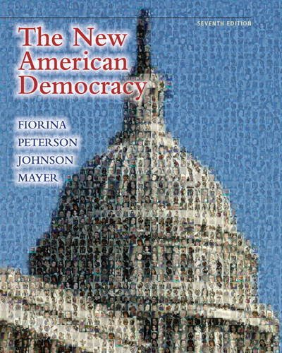 New American Democracy  7th 2011 (Revised) edition cover