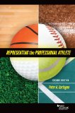 Representing the Professional Athlete:   2013 edition cover