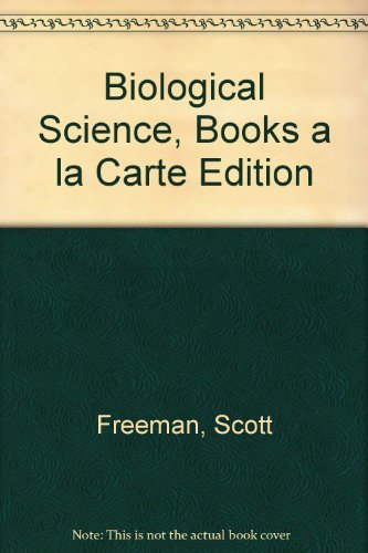 Biological Science, Books a la Carte Edition  5th 2014 edition cover