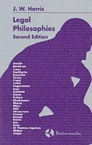 Legal Philosophies  2nd 1997 (Revised) edition cover
