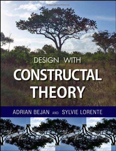 Design with Constructal Theory   2008 9780471998167 Front Cover