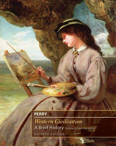 Western Civilization  7th 2011 (Brief Edition) edition cover