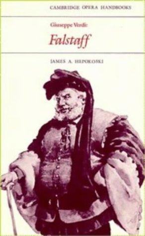Giuseppe Verdi Falstaff  1983 9780521280167 Front Cover