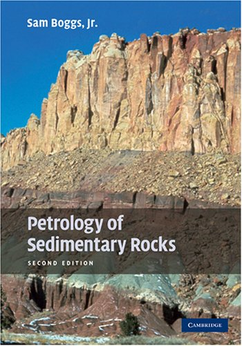 Petrology of Sedimentary Rocks  2nd 2009 edition cover