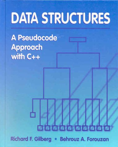 Data Structures A Pseudocode Approach with C++  2000 9780534952167 Front Cover