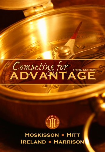 Competing for Advantage  3rd 2013 edition cover