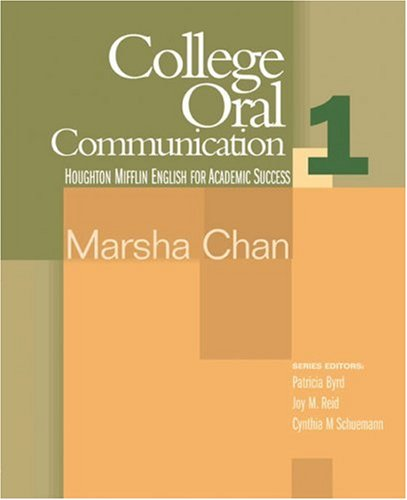 College Oral Communication   2006 9780618230167 Front Cover