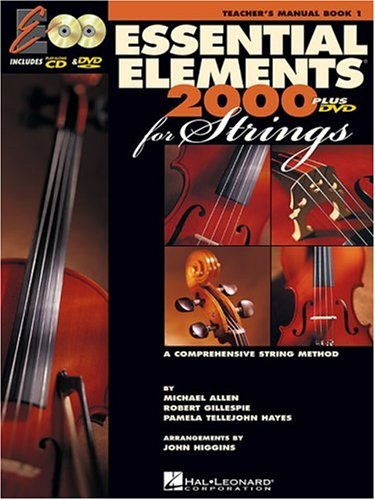Essential Elements for Strings A Comprehensive String Method  2002 (Teachers Edition, Instructors Manual, etc.) edition cover