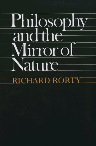 Philosophy and the Mirror of Nature   1981 edition cover