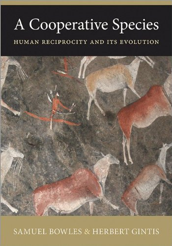 Cooperative Species Human Reciprocity and Its Evolution  2013 edition cover