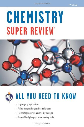 Chemistry Super Review:   2012 edition cover