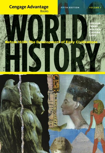 World History Before 1600 - The Development of Early Civilization 5th 2012 edition cover
