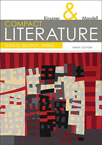 Compact Literature: Reading, Reacting, Writing 9th 2015 edition cover