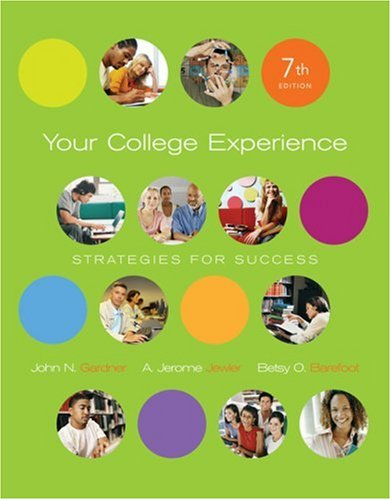 Your College Experience  7th (Revised) 9781413030167 Front Cover