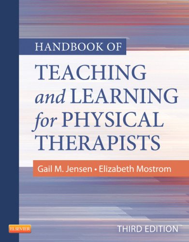 Handbook of Teaching and Learning for Physical Therapists  3rd 2012 edition cover