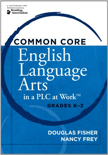 Common Core English Language Arts in a Plc at Work: Grades K-2  2012 edition cover