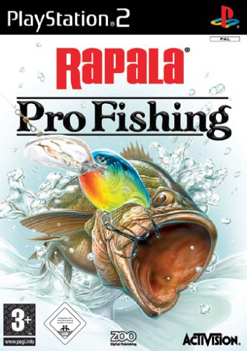 Rapala Pro Fishing PlayStation2 artwork