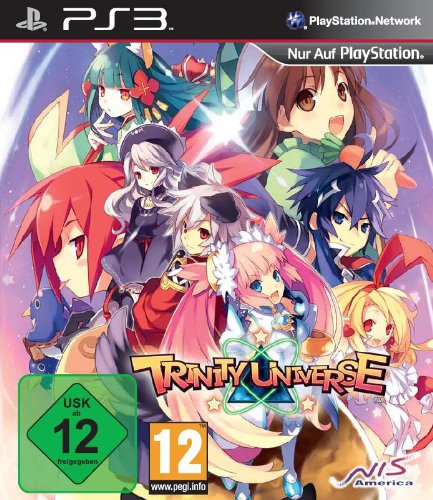 Trinity Universe PlayStation 3 artwork
