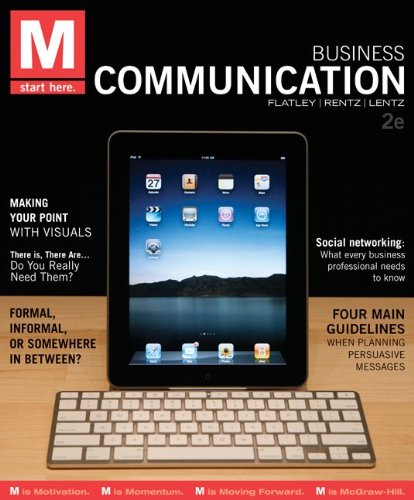 M - Business Communication  2nd 2012 edition cover